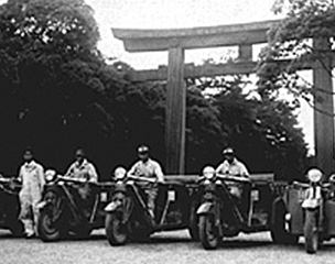 Kagoshima-Tokyo caravan