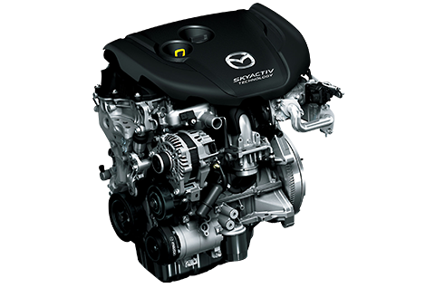 SKYACTIV-D Diesel Engine Revolutionary Diesel Engine with Improved Fuel Efficiency, Cleanness and Direct Response